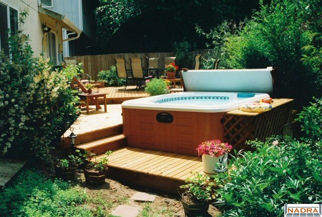 Deck Builders Inc Olympia Wa Cedar Hot Tub Nadra