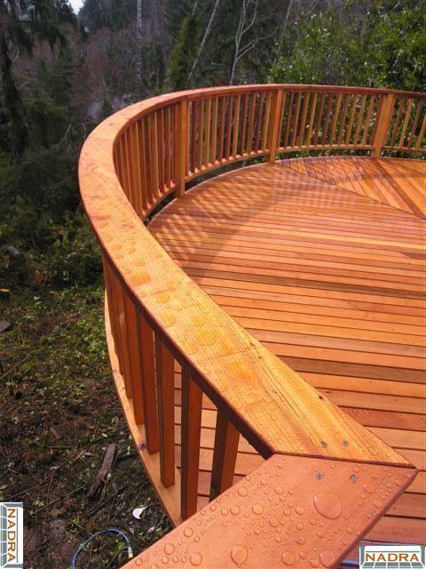 Deck Builders Inc Olympia Wa Cedar Railing Nadra